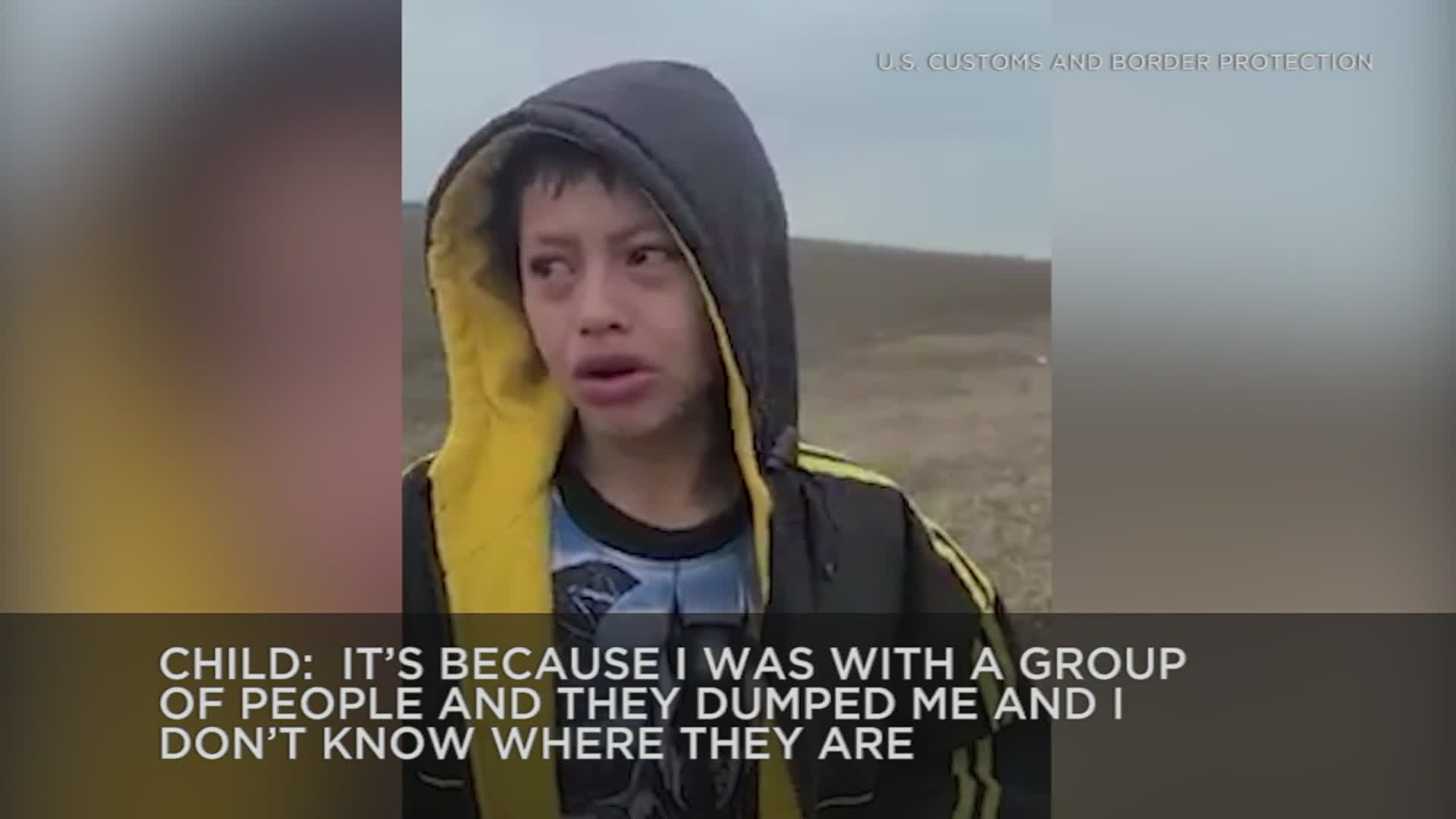Migrant boy found wandering alone in Texas had been deported and kidnapped 3