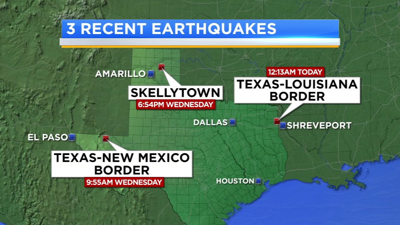 Multiple earthquakes reported across Texas 2