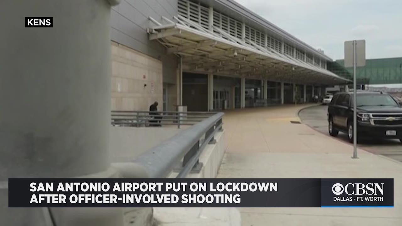 San Antonio Airport on lockdown after officer-involved shooting 6
