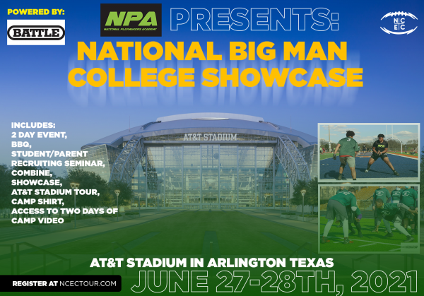 The National 'Big Man Camp' at Dallas Cowboys Stadium Powered by Battle welcomes the Next Generation of Football Stars 4