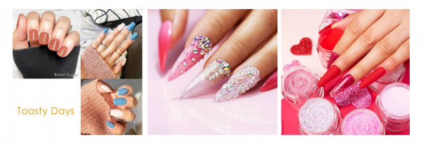 23 Simple and Elegant Dip Powder Nail Ideas To Try At Home 8