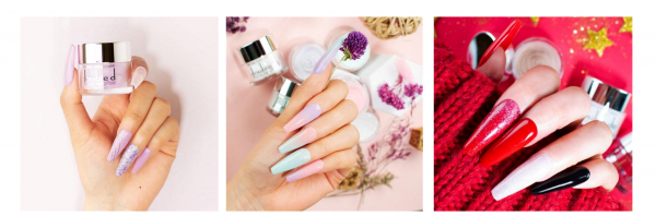 23 Simple and Elegant Dip Powder Nail Ideas To Try At Home 7
