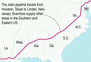 Company hopes to have major Texas fuel pipeline back in service by week's end 8