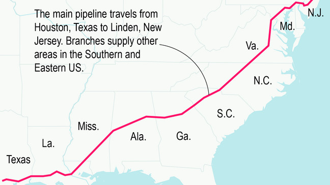 Company hopes to have major Texas fuel pipeline back in service by week's end 6