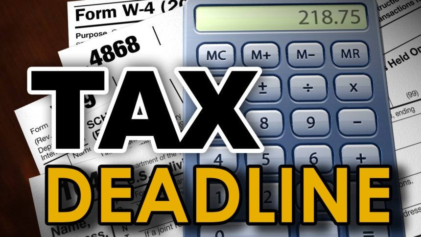 Monday's tax day – but Texans get until June; here's what you need to know about filing 3
