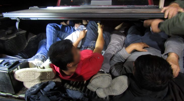 Over 20 migrants found hidden in truck bed and trailer at Sierra Blanca checkpoint 8
