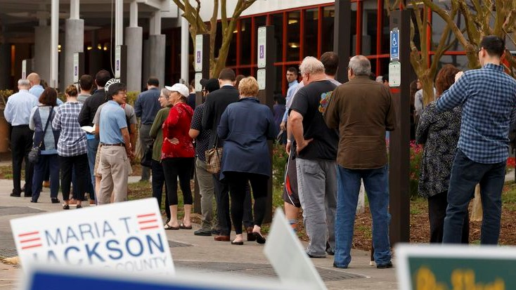 Texas Senate OKs very restrictive voting law after overnight debate 6
