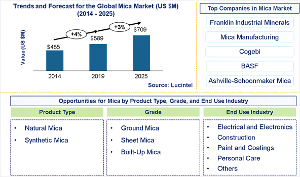 Mica Market is expected to reach $12.5 Billion by 2025 – An exclusive market research report by Lucintel 6