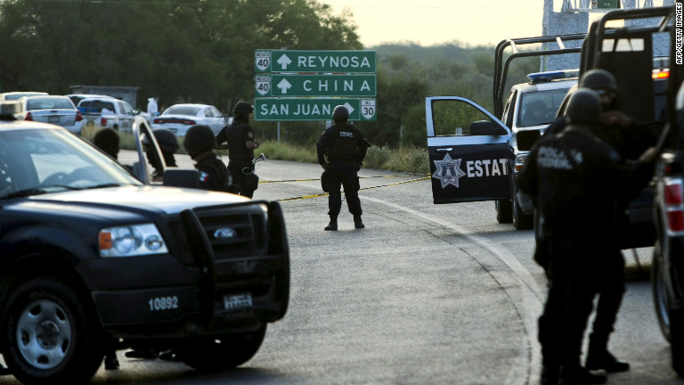 8 new arrests in Mexico border city attacks that killed 19 6