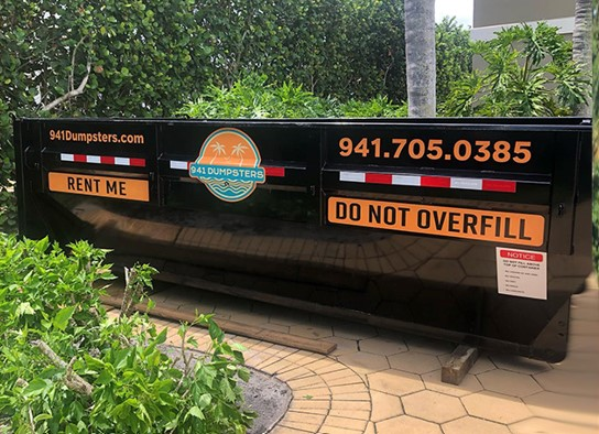 Dumpster Rental Siesta Key with Easy Online Booking for the Right-Sized Dumpsters that Fit into Tight Spaces 6