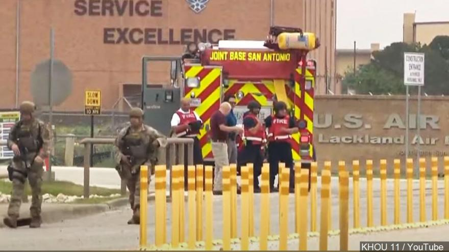 'All clear' at Joint Base San Antonio-Lackland after gunfire 6