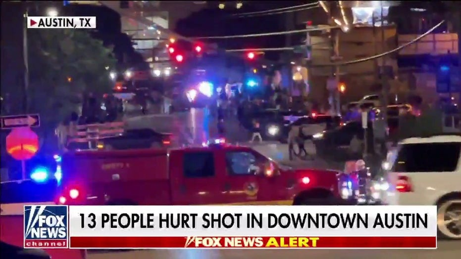 At least 13 injured, 2 critically, in shooting in downtown Austin 6