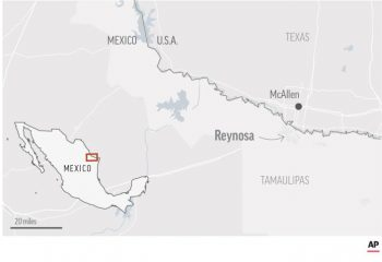 At least 18 killed in violence near U.S.-Mexico border 7