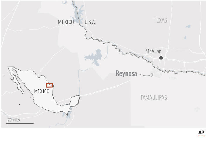 At least 18 killed in violence near U.S.-Mexico border 6