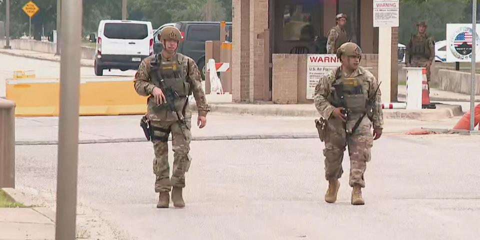 Joint Base San Antonio-Lackland on 'lockdown' after 2 shooters fire at gate 6