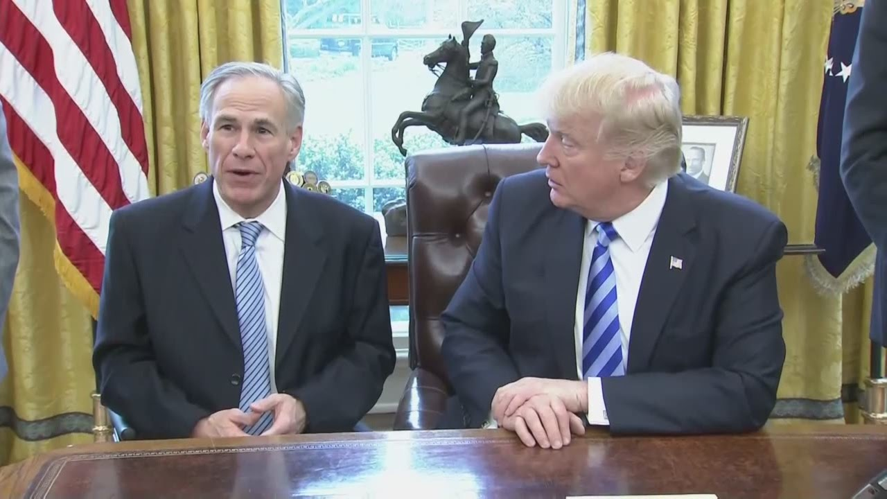 Trump to tour Texas border wall with Abbott at end of June 6