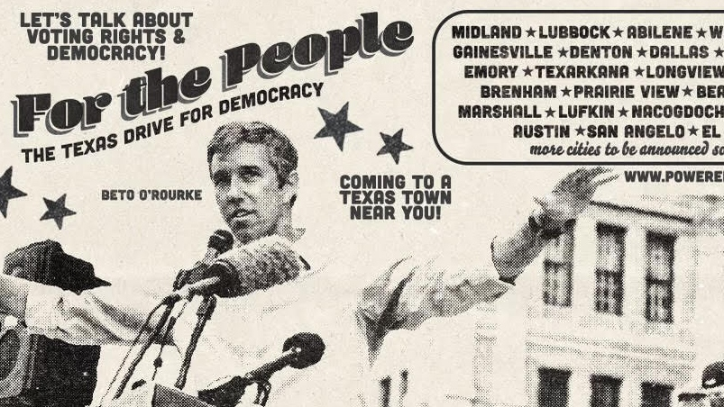Watch LIVE: Beto O'Rourke holds Texas voting rights rally 1