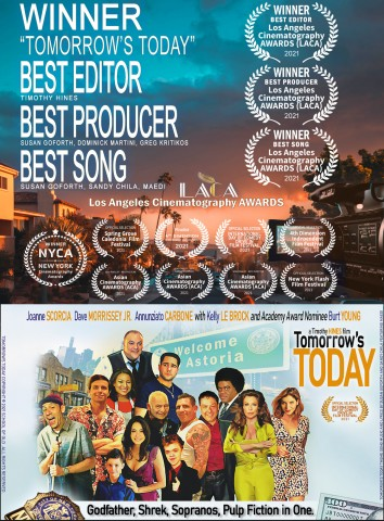"""Teddy Smith Lights Up Timothy Hines' """"Tomorrow's Today"""" as the FIlm Sweeps Awards at Festivals Across the Globe 22"""
