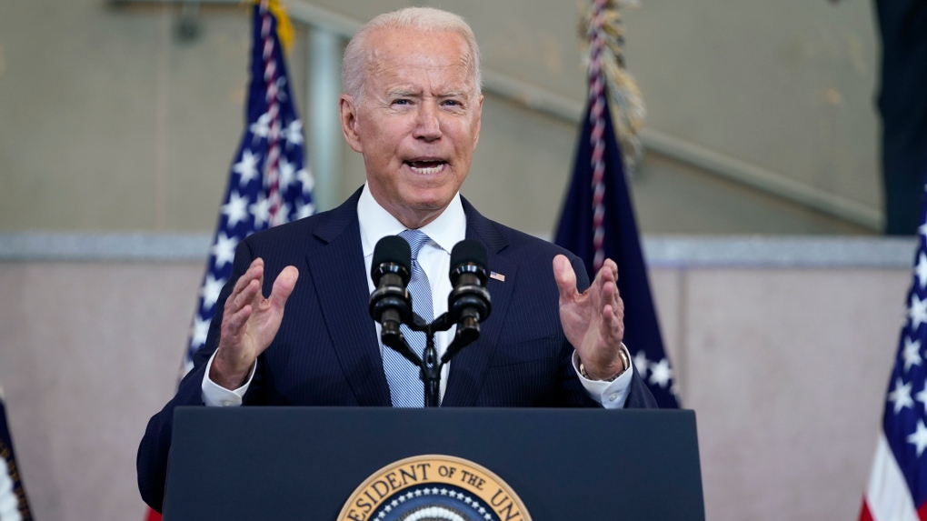 Biden declares GOP voting restrictions in Texas, other states to be 'un-American' 6