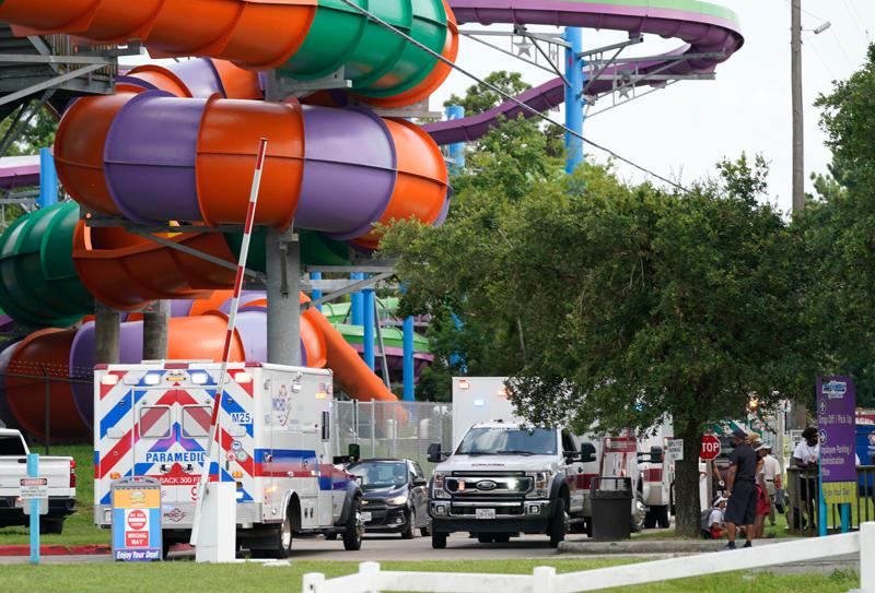 Dozens treated after chemical leak at Texas water park 6