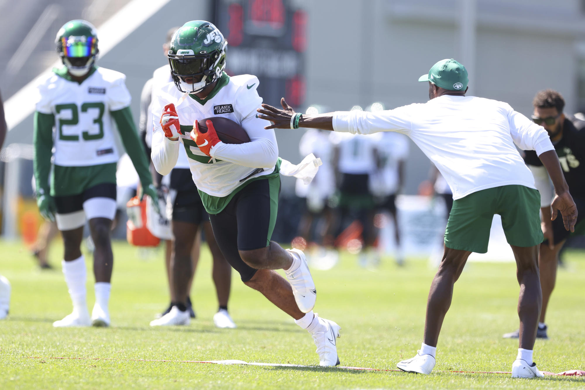 Joint practices help NFL teams tackle tedium of camp 6