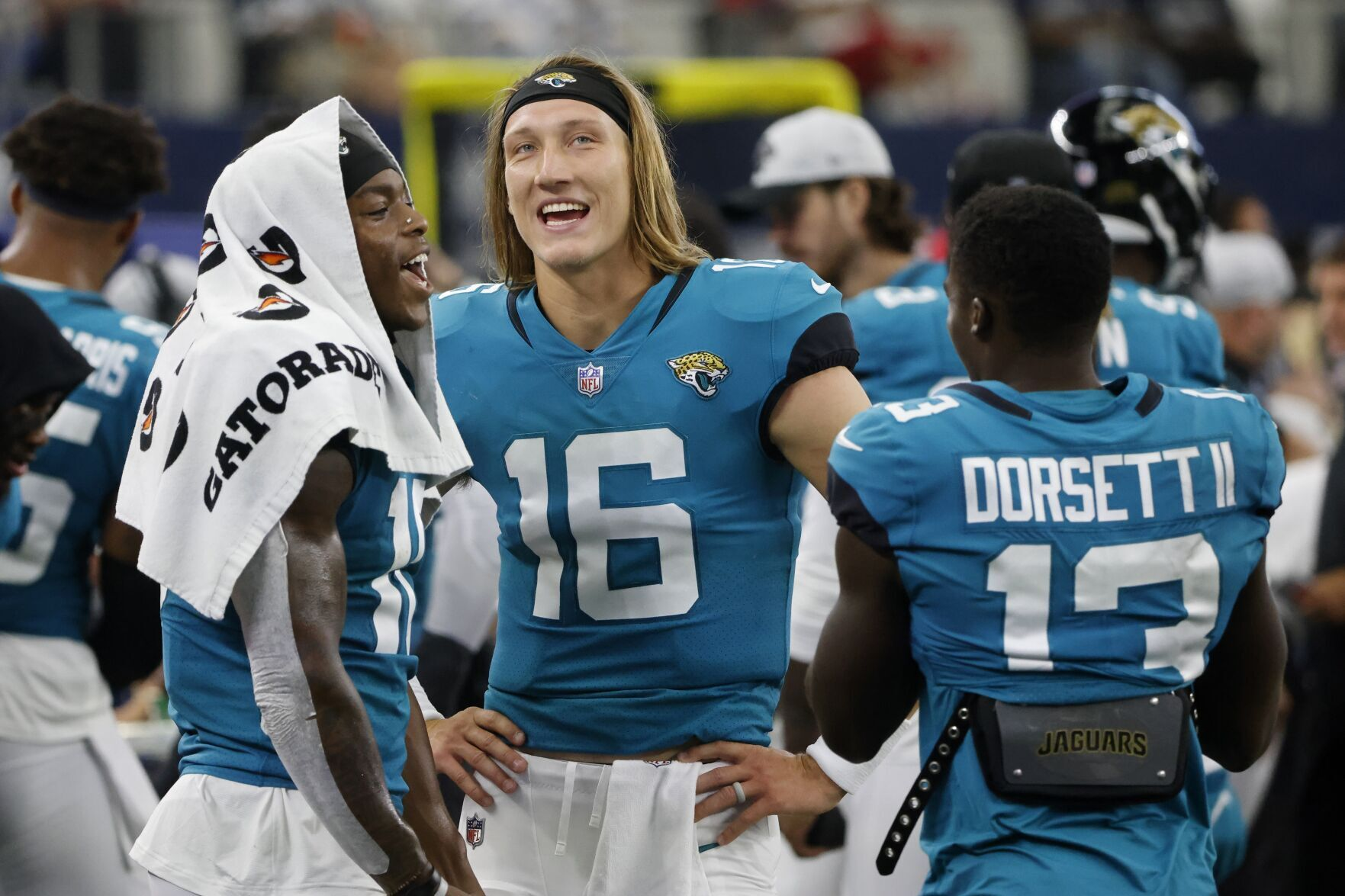 Lawrence wraps preseason with 2 TDs, Jags beat Cowboys 34-14 6