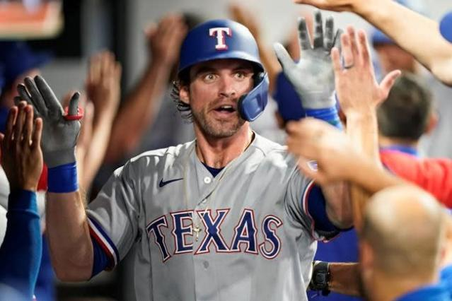 Lowe's homer, 5 hits, 3 RBIs lead Rangers past Indians 7-3 6