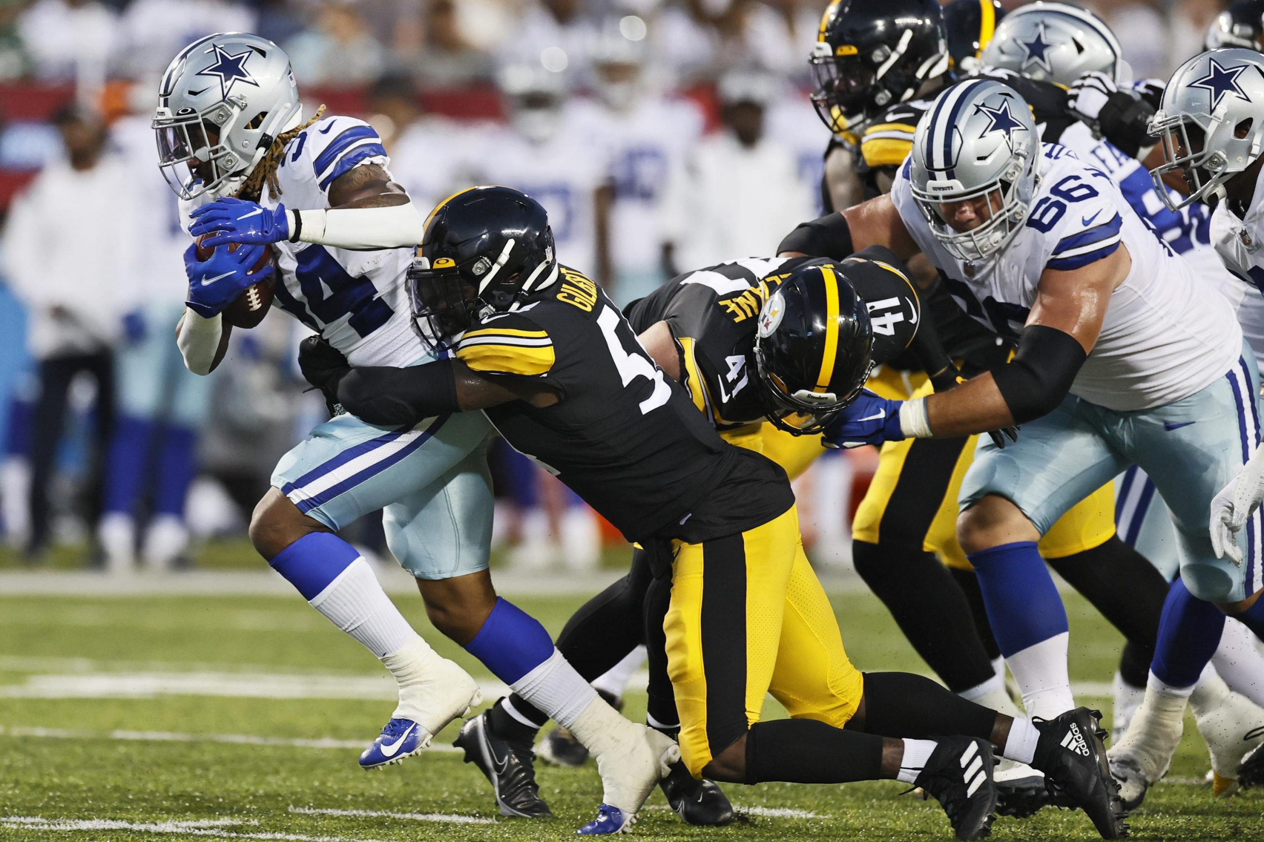 Steelers use strong 2nd half to beat Cowboys 16-3 6