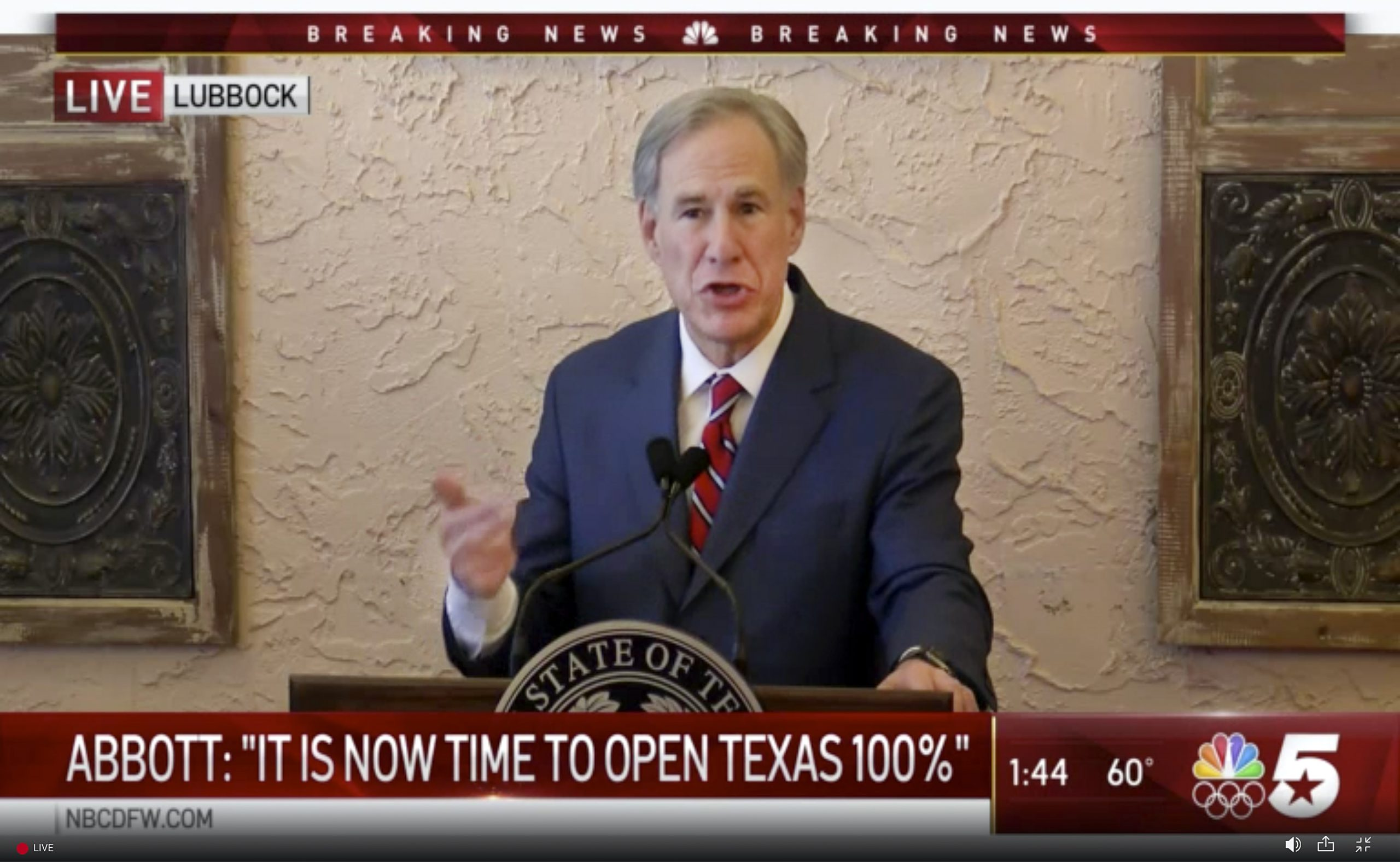Watch LIVE: El Paso officials hold briefing on mask rules, restraining order against Abbott 6