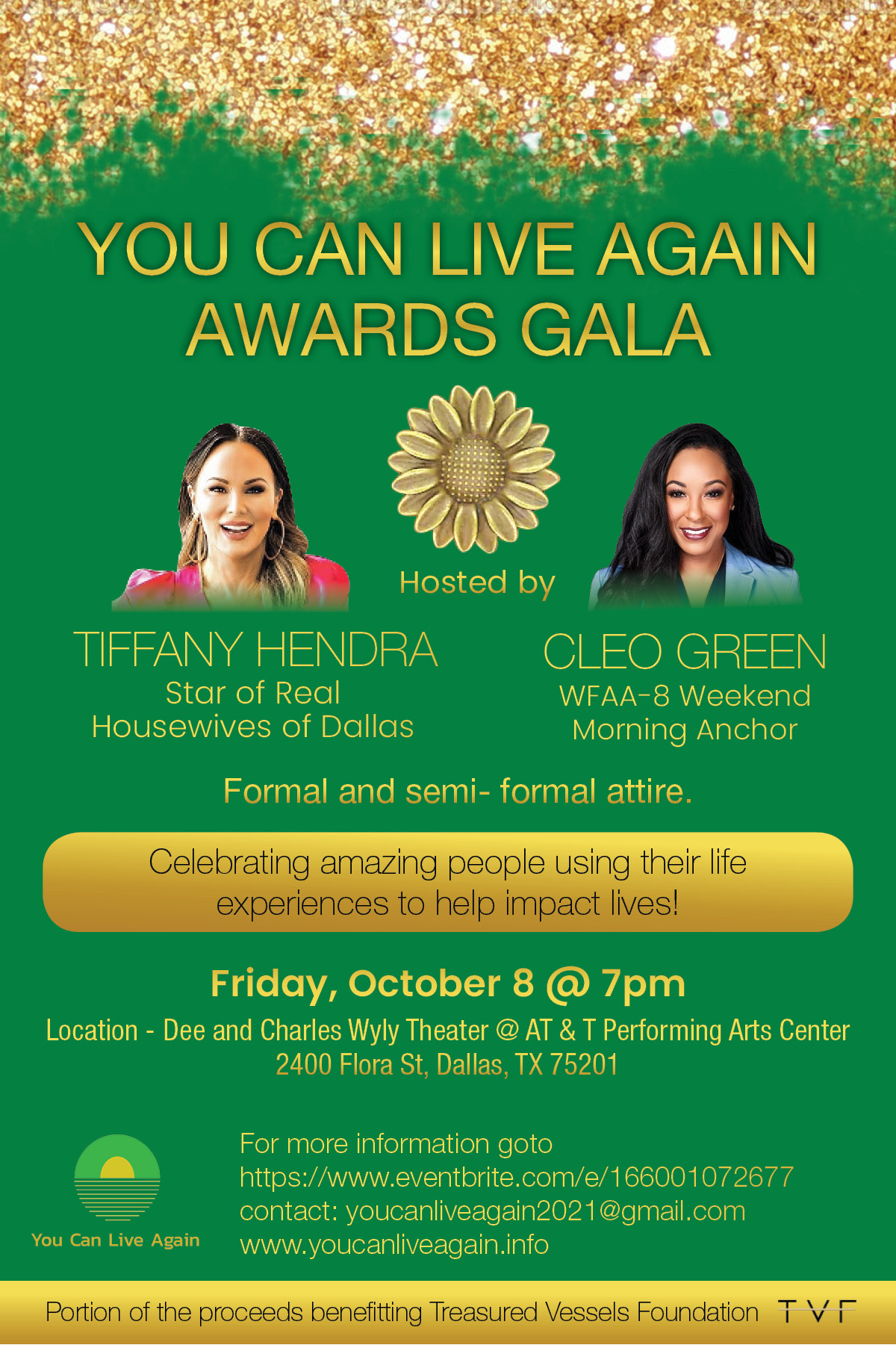 You Can Live Again Awards Gala 2021 Will Be Co-hosted by Tiffany Hendra of 'Real Housewives of Dallas' 6