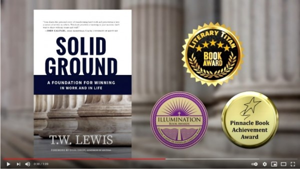 'Solid Ground' by T.W. Lewis Proves a Favorite with Libraries and Critics 7