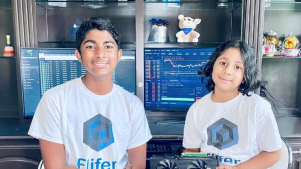 14 And 9 Yr Old Siblings, Ishaan and Aanya Earning $30k By BTC Mining 10