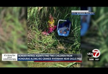 Border agents rescue toddler & baby from Rio Grande, find 29 migrants in Clint trailer 15