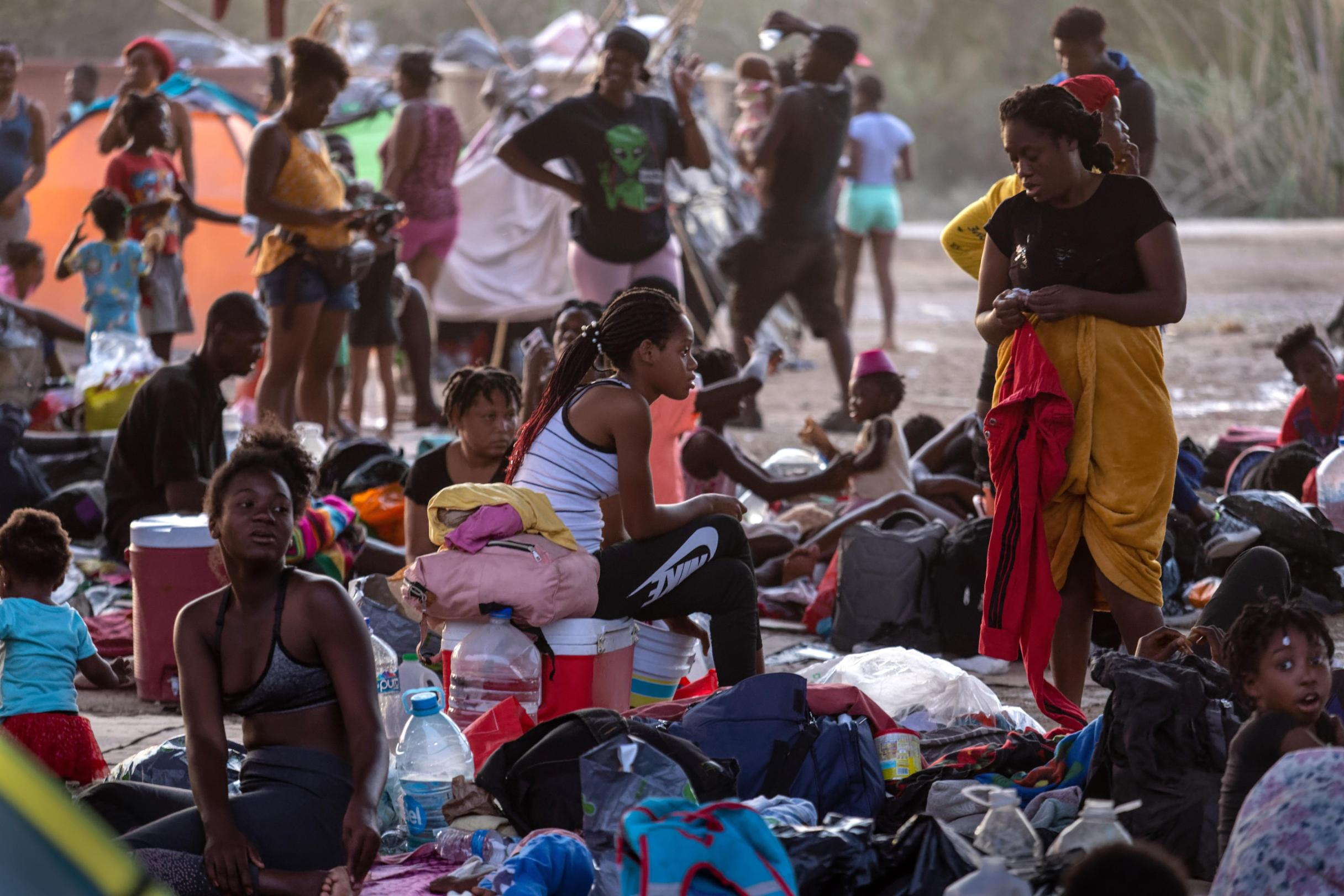 Last Haitian migrants depart Del Rio; 1,800 being processed in El Paso, 350 to stay at Annunciation House 6