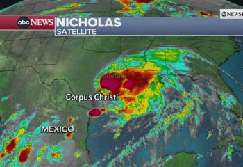 LIVE updates: Nicholas closes in on Texas after becoming hurricane 13