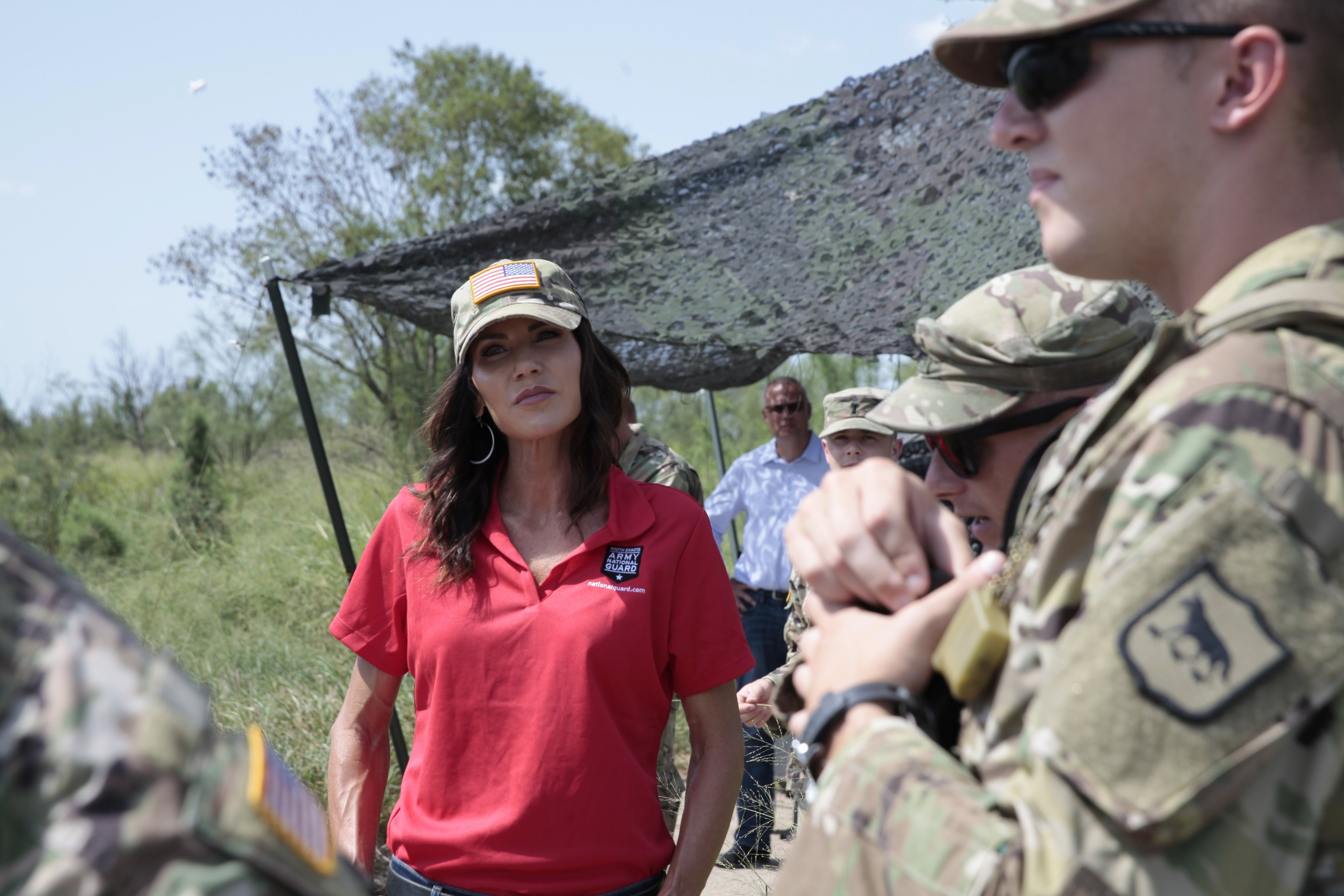 Noem says National Guard troops to return from Texas border 6