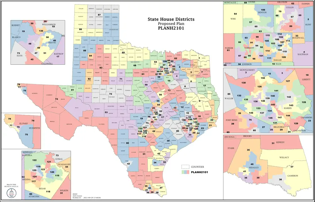 Texas House proposes map that pits El Paso Dems against each other 6