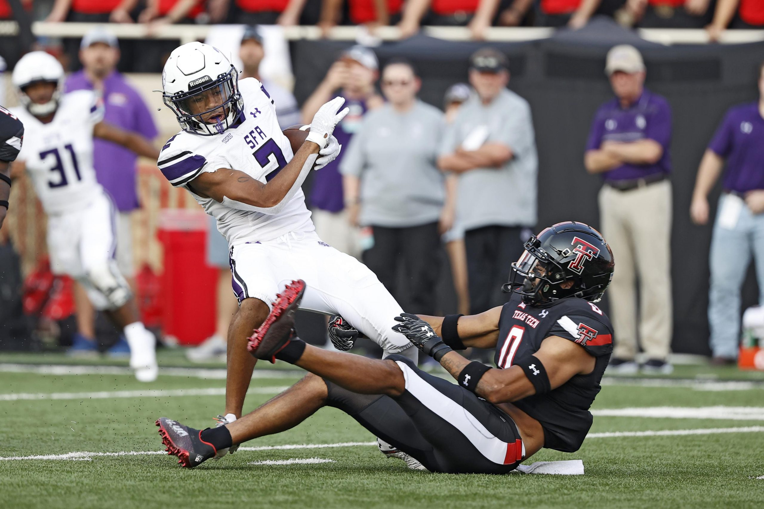 Texas Tech hangs on for 28-22 win over FCS' Stephen F Austin 6