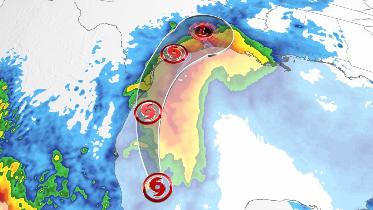 Tropical Storm Nicholas forms over Gulf of Mexico, with Texas in its path 6