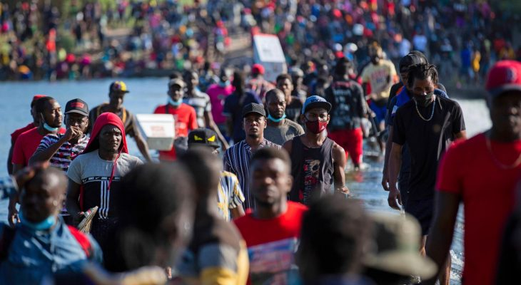 U.S. flying Haitians home from Texas border; some being processed in El Paso 6