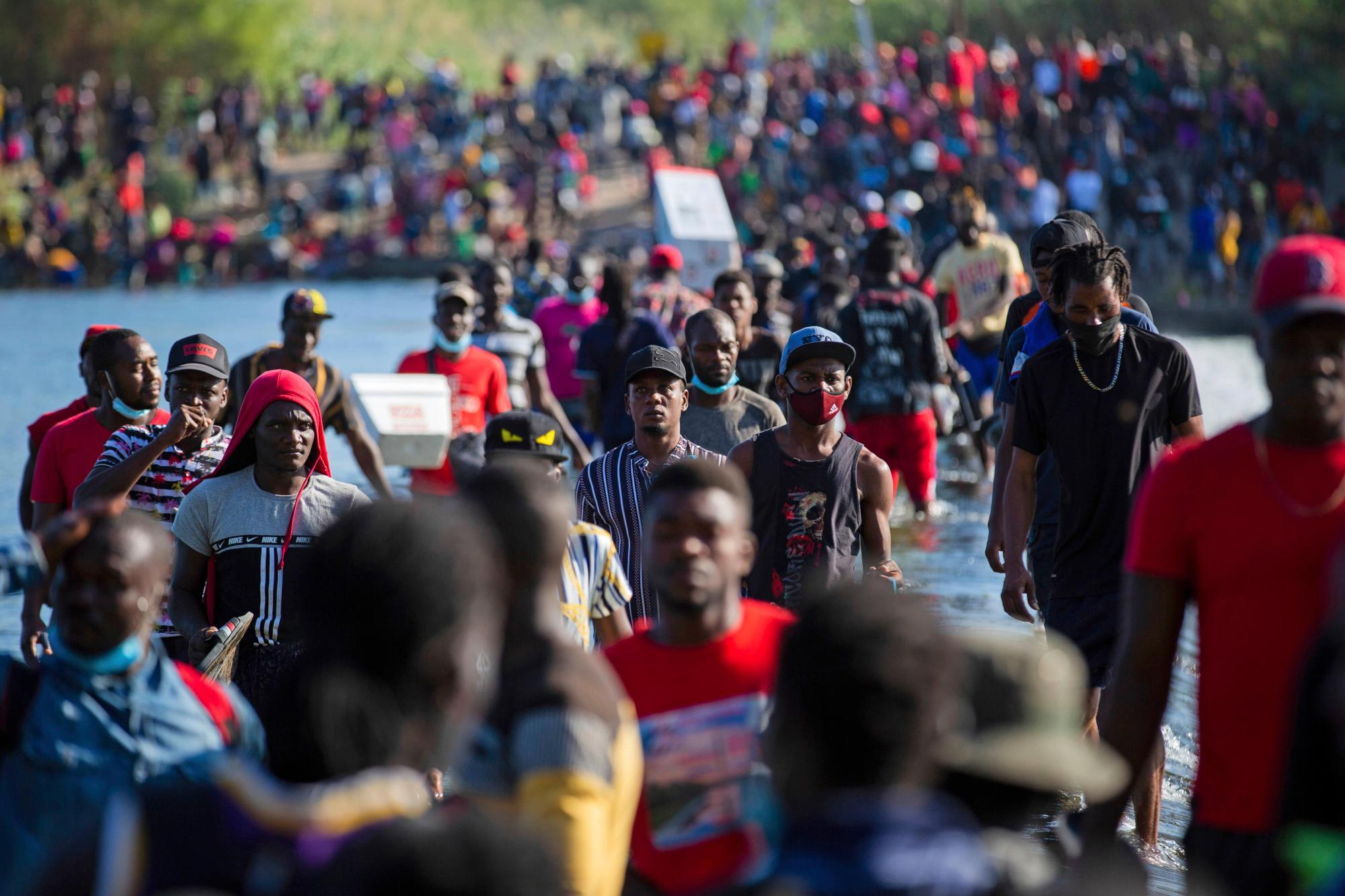 U.S. flying Haitians home from Texas border; some being processed in El Paso 2