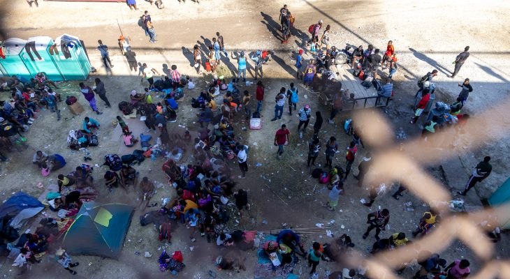 U.S. to deport 'massive' number of Haitians from Texas border 14