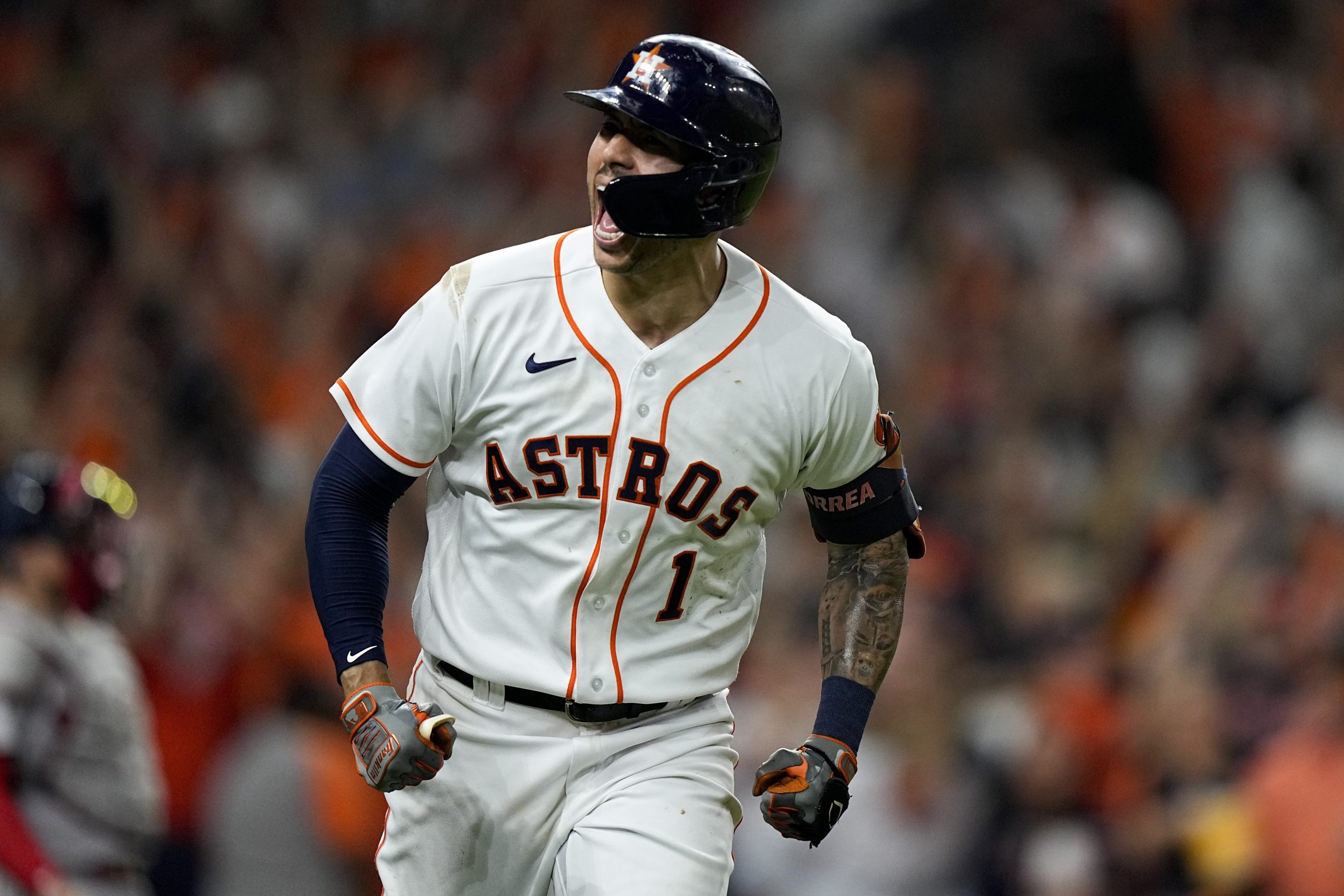 Correa's time: Late HR helps Astros top Bosox in ALCS opener 3