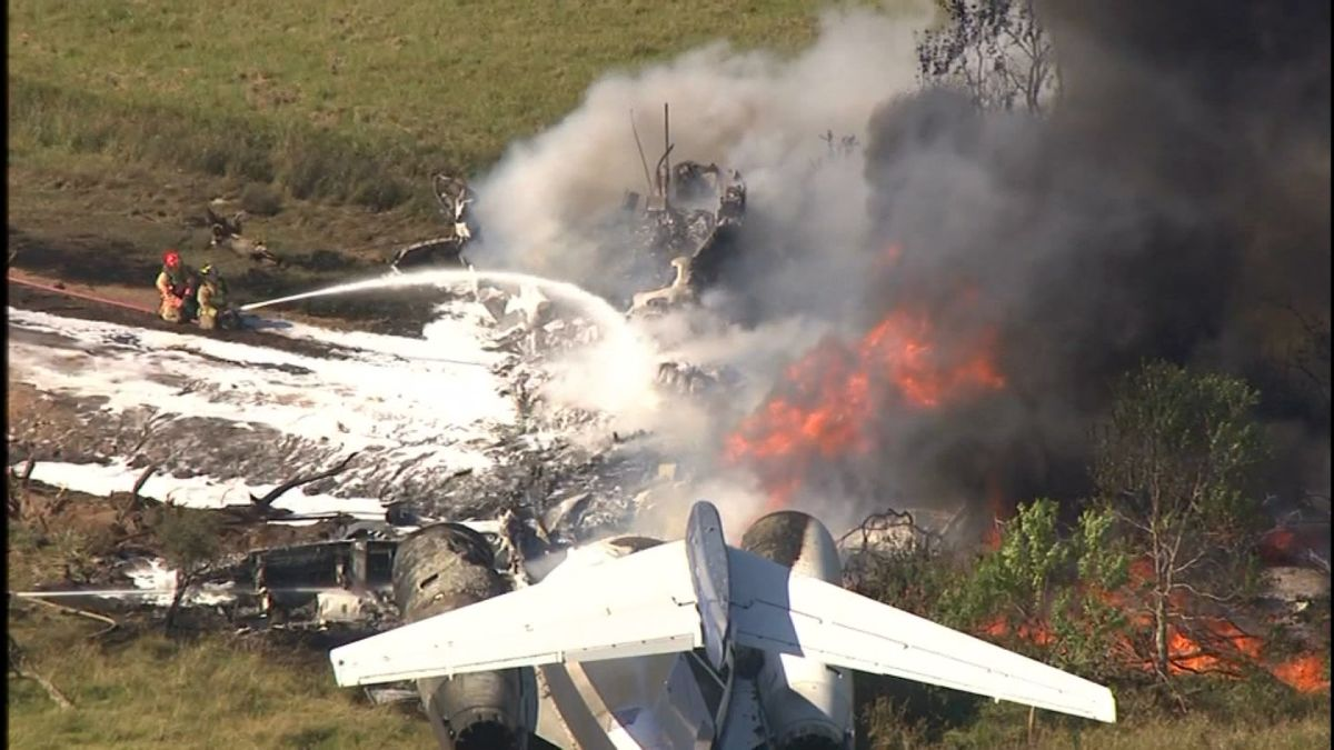 Heavy braking event occurred before Texas plane accident, NTSB says 1