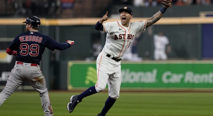 Red Sox run out of fight, fall to Astros in ALCS Game 6 7